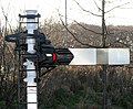 Old railway signal post - geograph.org.uk - 1084787.jpg