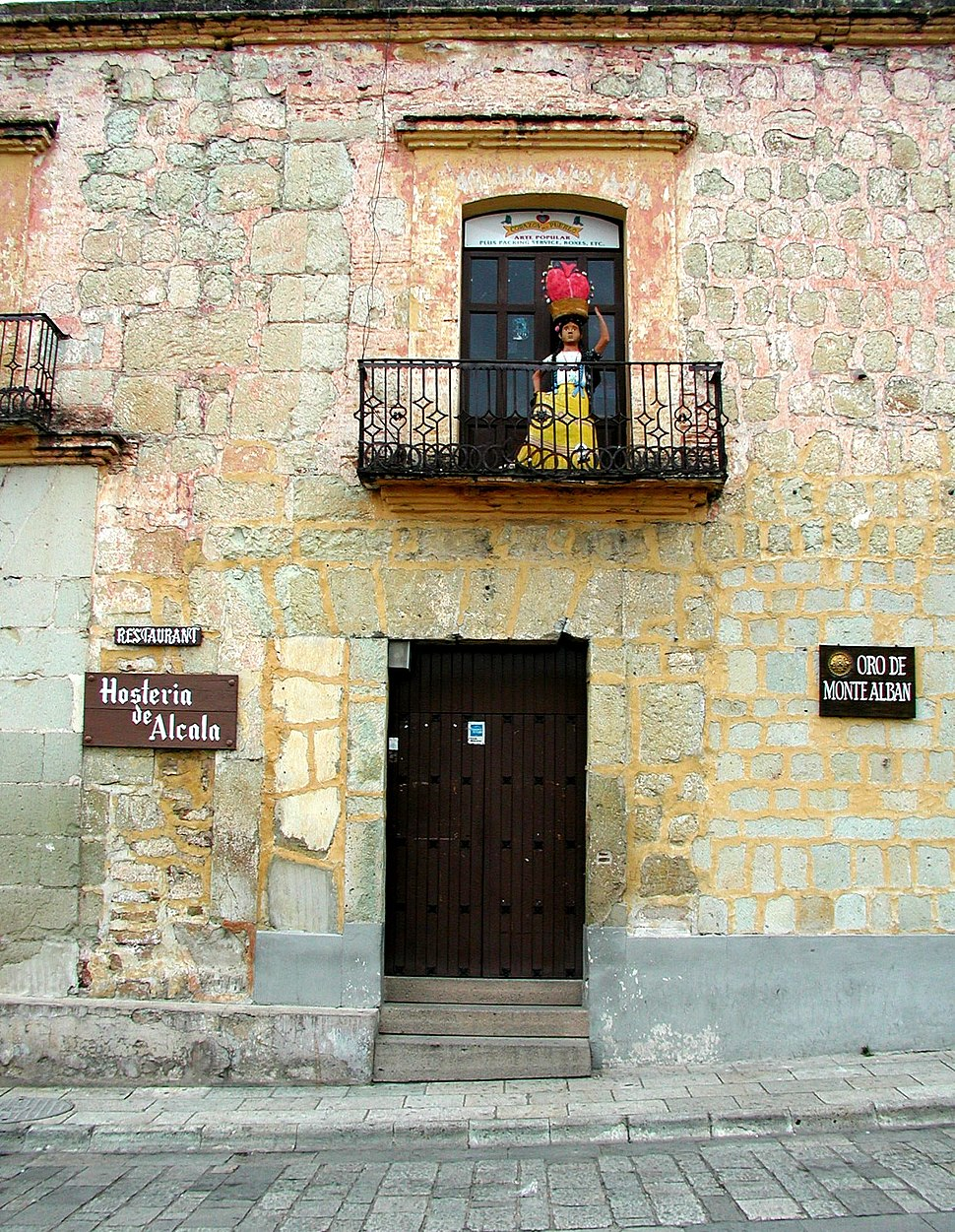 Old stone building in Oaxaca