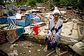 Old woman in Pariaman, north of Padang, West Sumatra.jpg