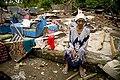 Old woman in Pariaman, north of Padang, West Sumatra.jpg