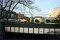 One going in, another coming out, rush hour at Camden. - panoramio.jpg