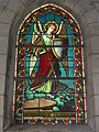 Onesse-et-Laharie (Landes) église, vitrail 02.JPG