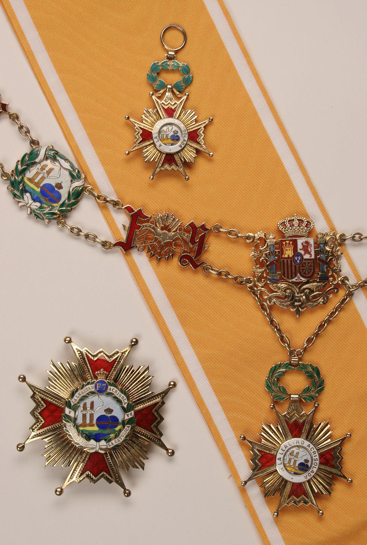 Орден Изабеллы Католической — Википедия