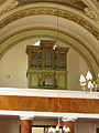 Organ in church of Saint Mark in Benetice, Třebíč District.JPG