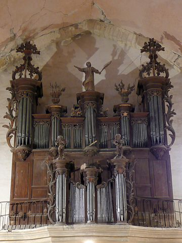 Orgue de tribune.