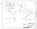 Original Drawing - Mezzanine and Ceiling Framing at Elevators and Stairs - Naval Air Station Moffett Field, Hanger No. 1, Cummins Avenue, Moffett Field, Sunnyvale, Santa HAER CA-335-A (sheet 12 of 17).png