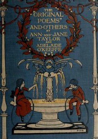 Ann Taylor (poet) - Image: Original Poems' and Others, by Ann and Jane Taylor and Adelaide O'Keeffe