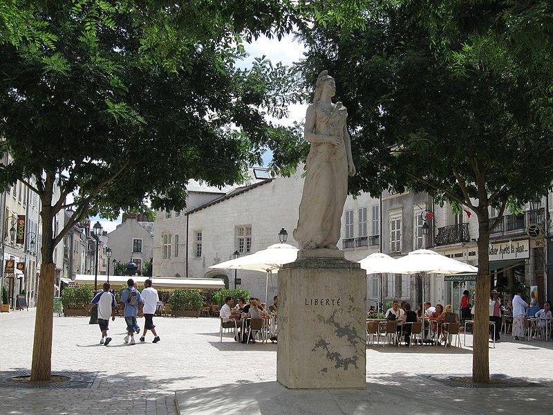 Place de la République, Orléans, Loiret, France