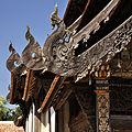 Ornamental design Intravas Temple Chiang Mai Thailand 2 2010.jpg