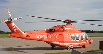 Ornge - Ornge AgustaWestland AW139 at the Ottawa base, 3 June 2011