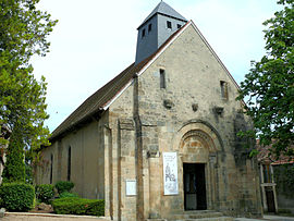 The church of Saint-Hilaire, in Orval