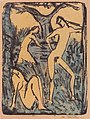 Otto Mueller - Zwei Mädchen und stehender Jüngling - ca1910.jpeg