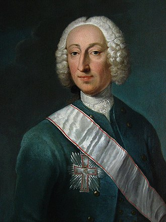 Otto Thott - Otto Thott (1703–1785)  portrait by Andreas Brünniche