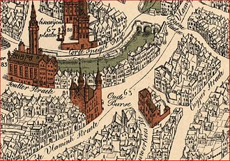 Henri Pirenne - View of the city of Bruges (1562)