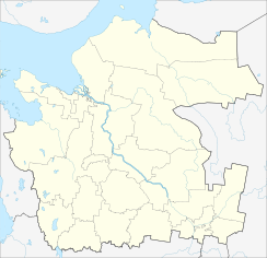 Mezen is located in Arkhangelsk Oblast