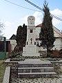 Overview of World War I memorial in Chlístov, Třebíč District.JPG
