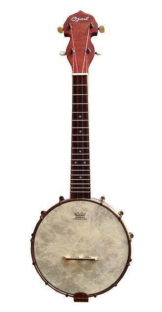 Banjo uke - Image: Ozark banjo ukulele