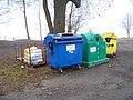 Příchovice, kontejnery na tříděný odpad.jpg
