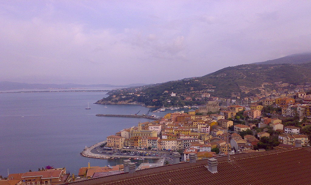 Porto San Stefano, panorama dalla strada del sole