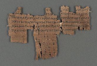 Papyrus Oxyrhynchus 8 - P. Oxy. 8