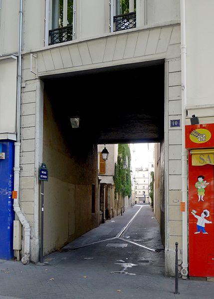 Fichier:P1040664 Paris X passage des Marais rwk.JPG