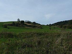 Przybyszów, Podkarpackie Voivodeship - Land along the main road of Przybyszów