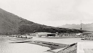 Coast Guard Air Station Kodiak - Naval Air Station Kodiak in 1949.