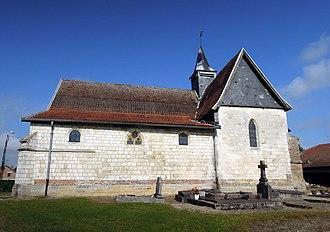 Séchault - Image: PA00078516 vue de l'église Saint Rémi de Séchault Ardennes