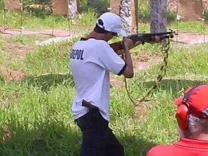 English: Police officer of Brazilian Civil Pol...