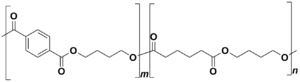 Polybutyrate - Structure of PBAT