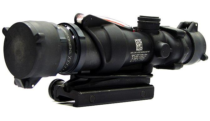English: The M150 Rifle Combat Optic (RCO) pro...