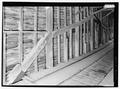PERSPECTIVE, EAST TRUSS. - Link Farm Covered Bridge, Spanning Sinking Creek, Newport, Giles County, VA HAER VA-126-10.tif