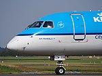 PH-EZM KLM Cityhopper Embraer ERJ-190STD (ERJ-190-100) taxiing, 25august2013 pic-6.JPG