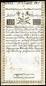 POL-A2a-Bilet Skarbowy-10 Zlotych (1794 First Issue).jpg