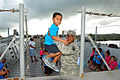 PRNG's Landing Craft citizen-soldiers welcome Vieques preschoolers 140123-A-SM948-147.jpg
