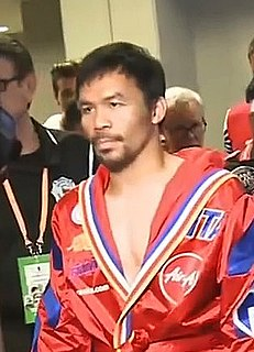 Boxing career of Manny Pacquiao Career summary