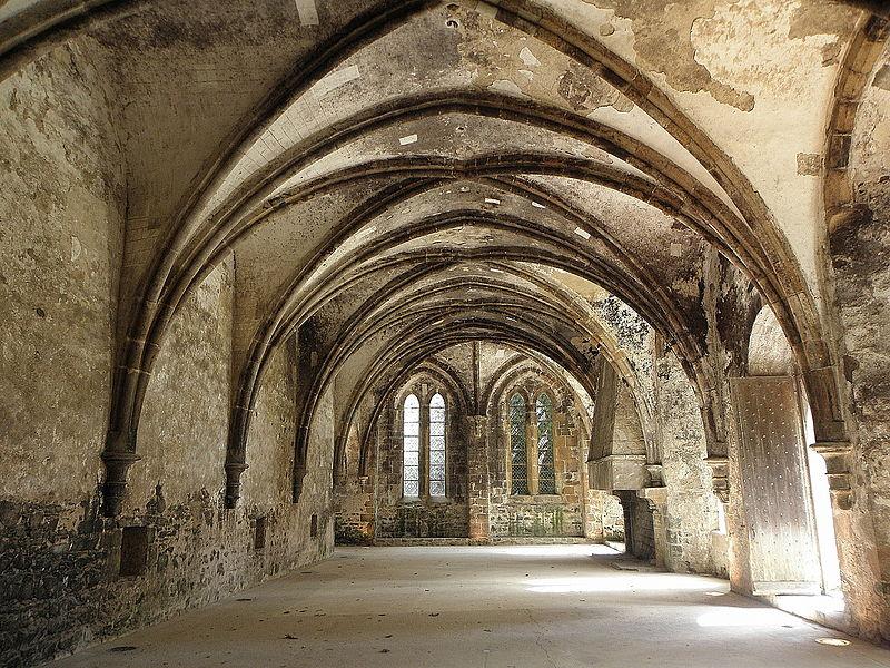 Salle au Duc de l'abbaye de Beauport en Paimpol (22).