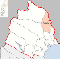 Pajala Municipality in Norrbotten County.png