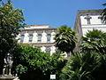 PalaisBarberini-jardins de la cours d'entrée.JPG