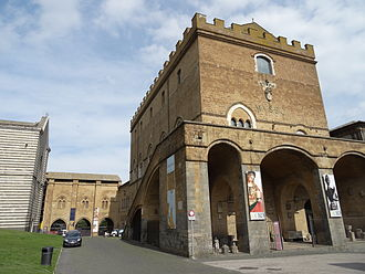 Orvieto Papacy - The papal palace of Orvieto