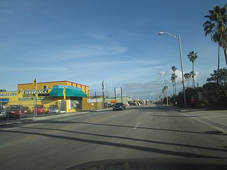 Hialeah, Florida - Palm Avenue in Hialeah