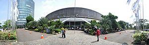 Babakan Madang - The front façade of the Sentul International Convention Center