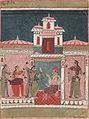 Pancham Ragini, Ragamala, 1680-1690.jpg