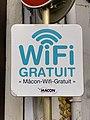Panneau Wifi Gratuit Rue Carnot - Mâcon (FR71) - 2020-12-22 - 1.jpg