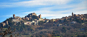 House of Malatesta - Image: Panorama Verucchio