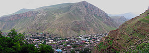 Maku, Iran - Panoramic view