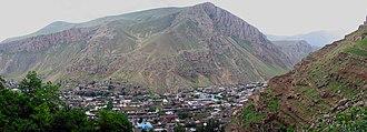 Maku, Iran - Panoramic view
