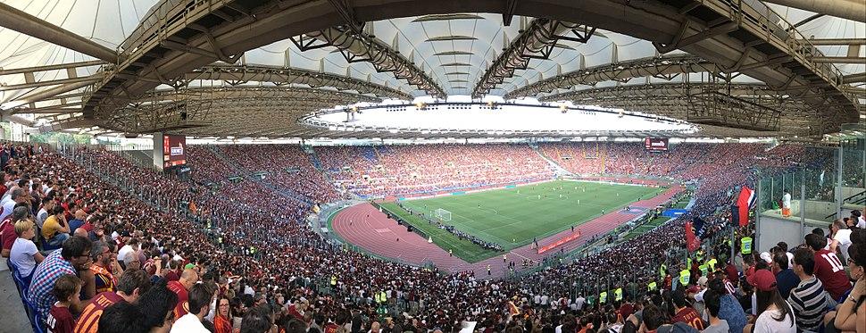 Panoramica dello Stadio Olimpico (Roma)