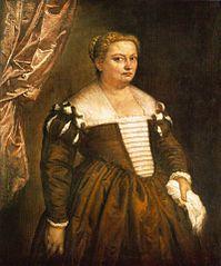 Bildnis einer (venezianischen) Dame