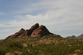 Phoenix metropolitan area - Image: Papago Buttes 2